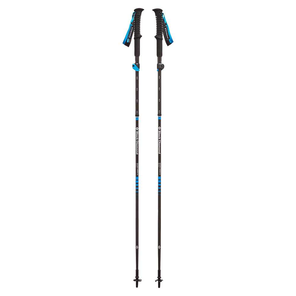 Distance Carbon FLZ Trekking Poles Black Diamond