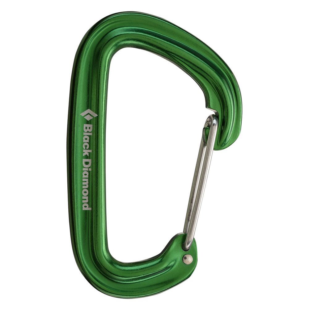 Neutrino Carabiner Green Black Diamond