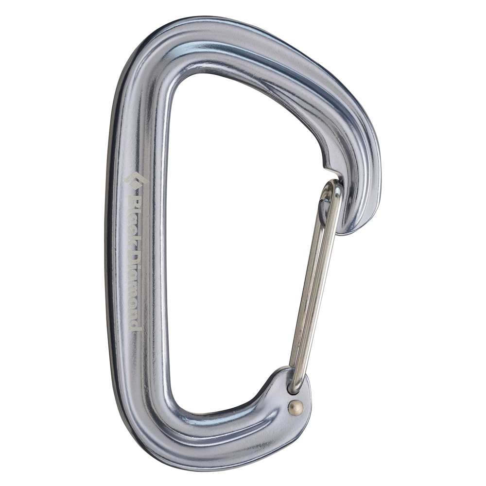 Black Diamond Neutrino Carabiner Gray