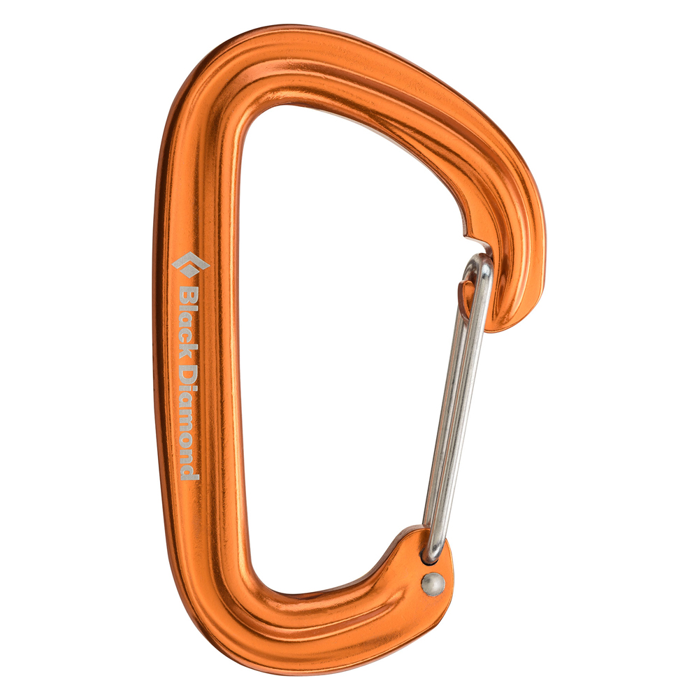 Neutrino Carabiner Orange Black Diamond