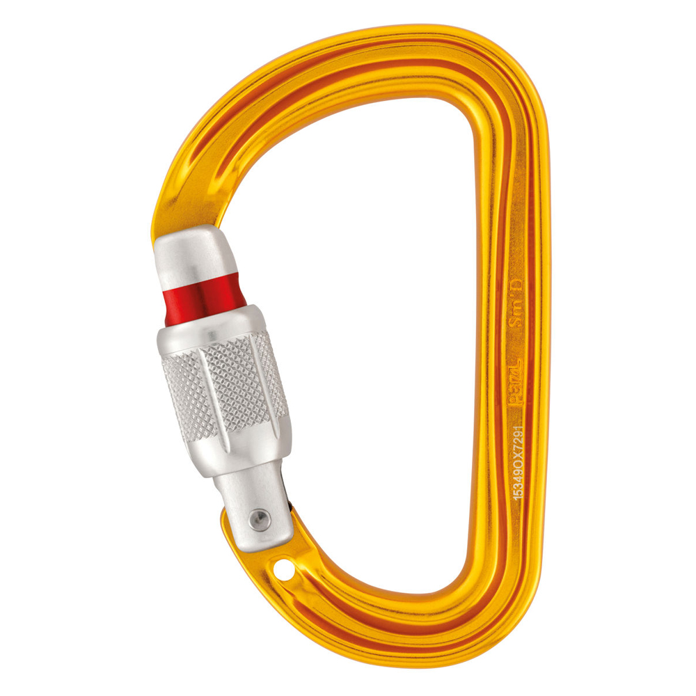 Sm'D SCREW-LOCK Petzl