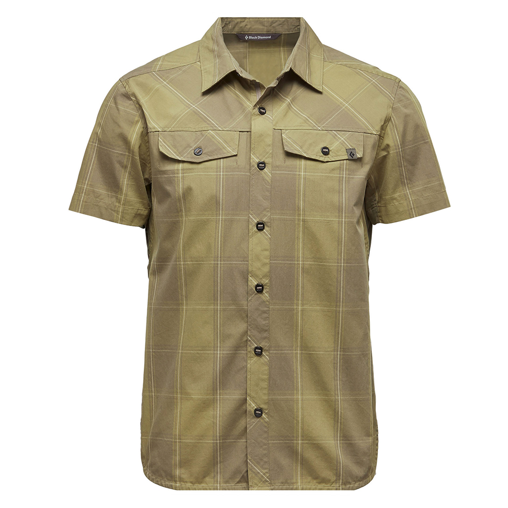 Technician Shirt Burnt Olive / Herb Plaid