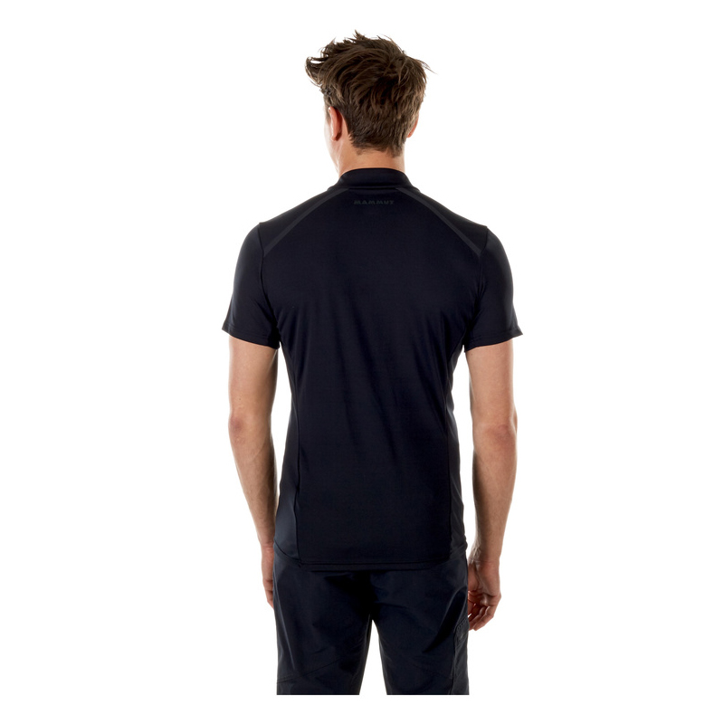 Atacazo Light Zip T-Shirt Men Black