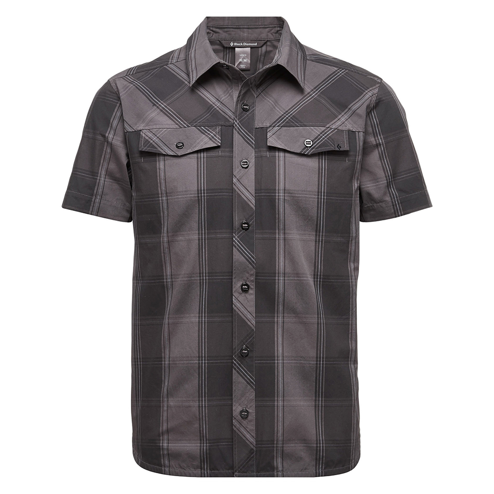 Black Diamond Technician Shirt Slate / Smoke Plaid