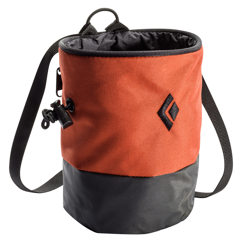 Mojo Zip Chalk Bag Rust