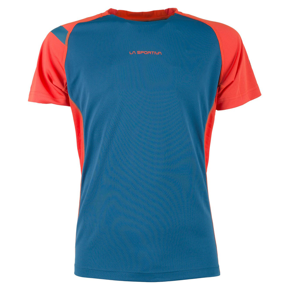 La Sportiva Apex T-Shirt S Lake / Flame