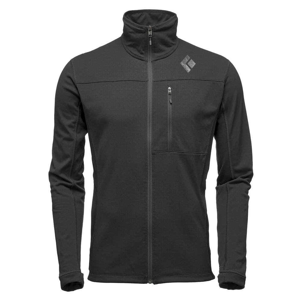 Coefficient Fleece Jacket Black