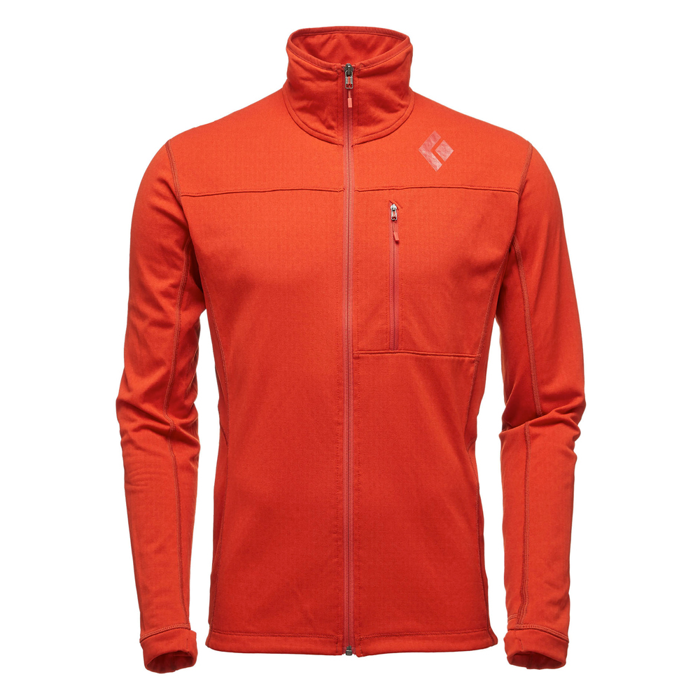 Coefficient Fleece Jacket Rust Black Diamond