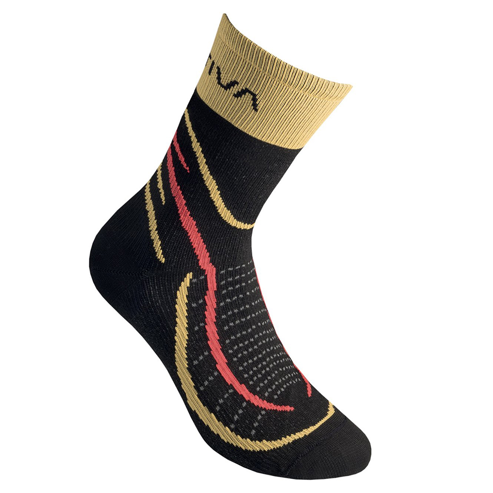 SKY SOCKS Black / Yellow