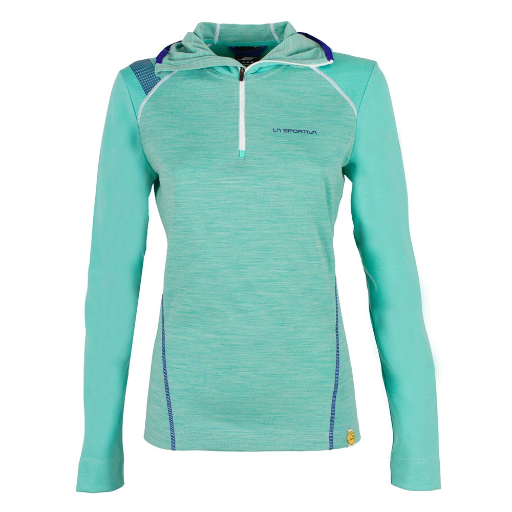 Saturn Hoody Woman Mint La Sportiva
