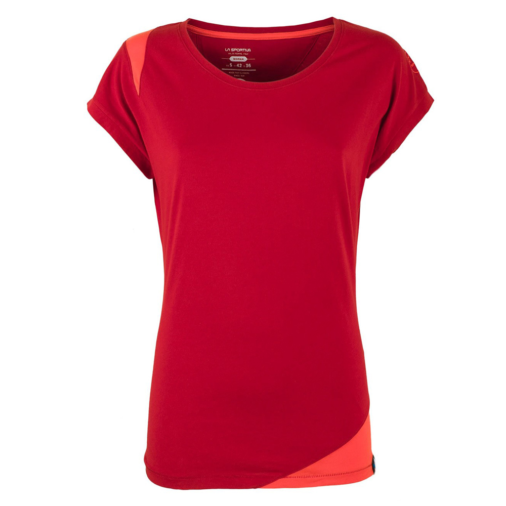 Chimney T-Shirt Woman Berry / Coral