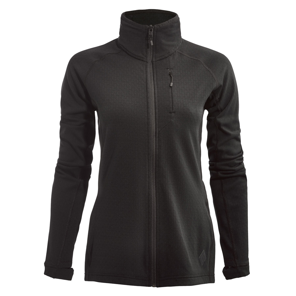 Coefficient Fleece Jacket Women's Black Black Diamond