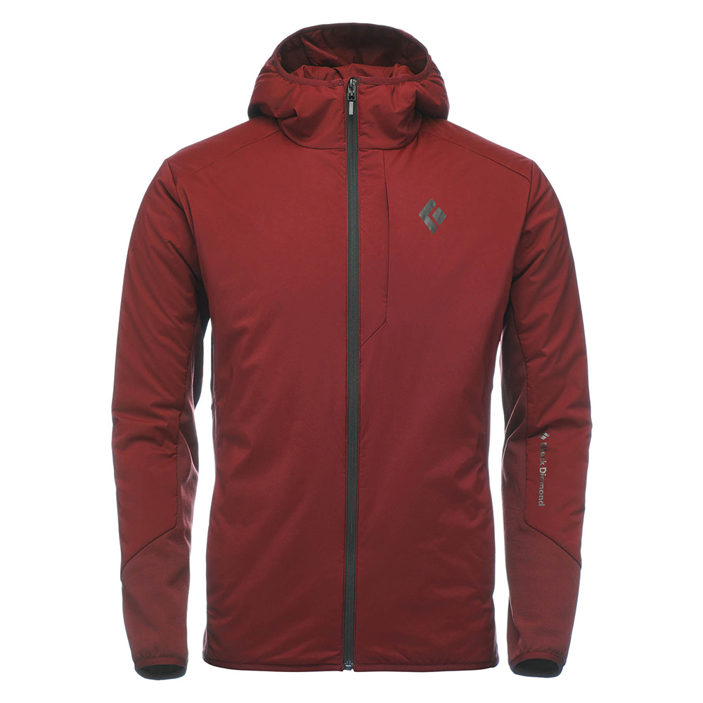 First Light Hybrid Hoody Red Oxide