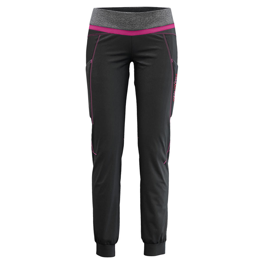 Exit Pants Woman Black / Berry Crazy Idea