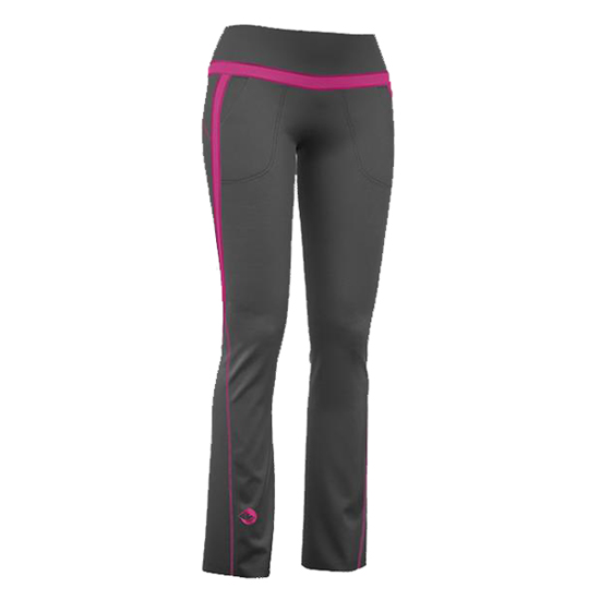Kooky Pants Woman Black / Pink Crazy Idea