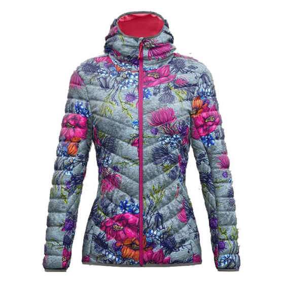 Summit Jkt Woman Fa Fantasy / Alpin Flower Crazy Idea