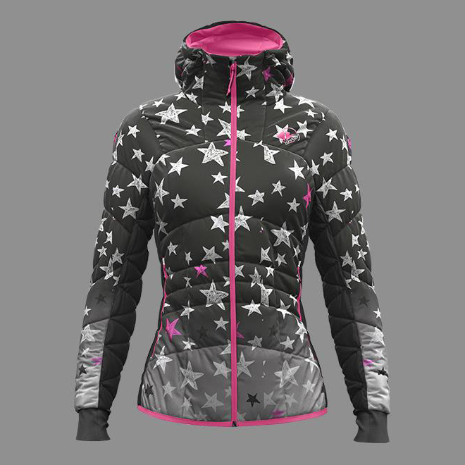 Ecstasy Jacket Woman St Stars Crazy Idea