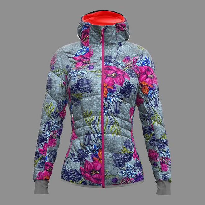 Ecstasy Jacket Woman Fa Fantasy / Alpin Flower Crazy Idea
