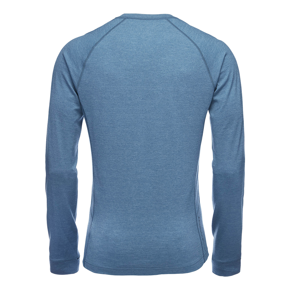 Black Diamond Solution 150 Merino Base Crew Men's Astral Blue