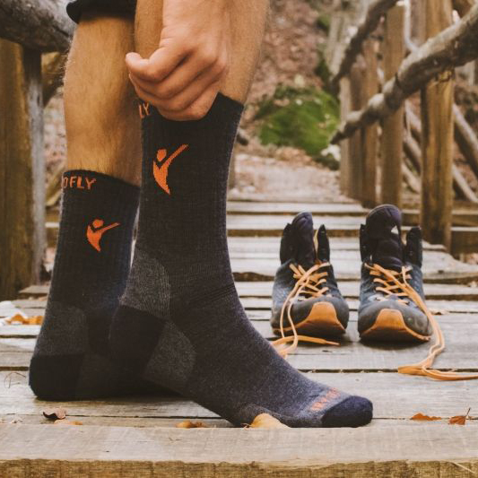 Pirin Hill Hiking Socks Anthracite