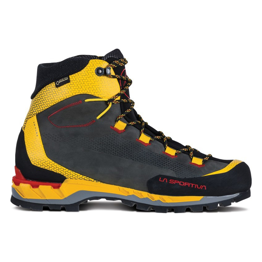 TRANGO TECH LEATHER GTX Black / Yellow