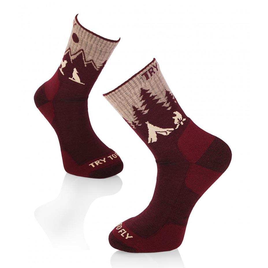 Hiking Socks Bordeaux Piri ...