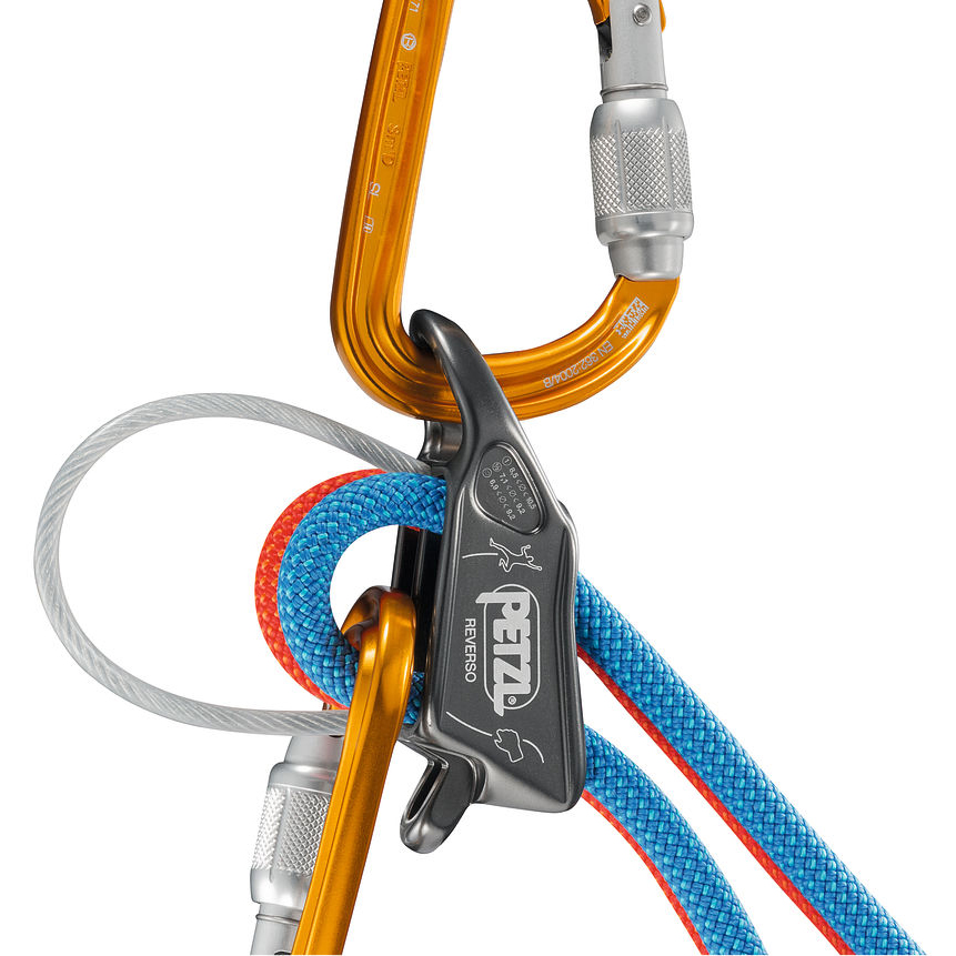 Petzl REVERSO® Red / Orange