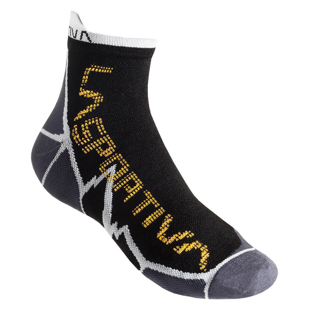 Long Distance Socks Black / Yellow