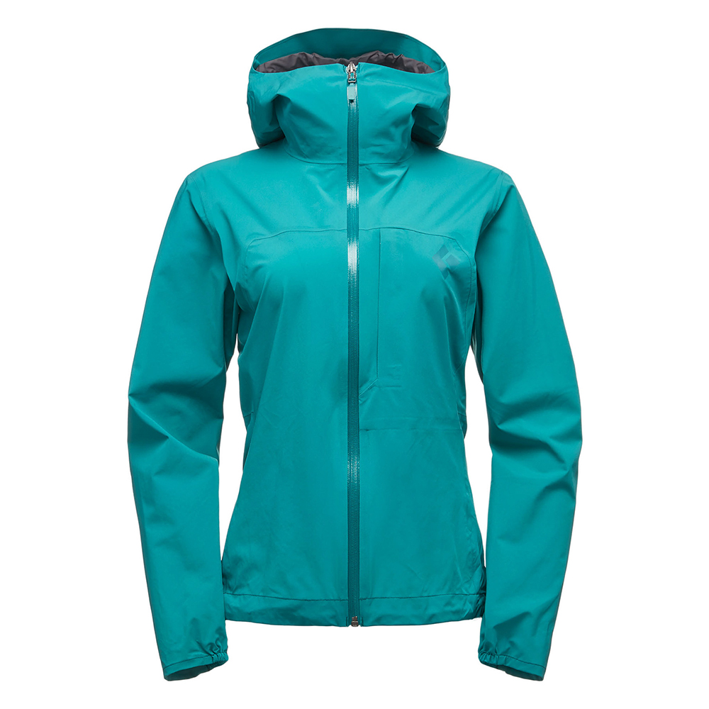 FineLine Stretch Rain Shell Women's Evergreen Black Diamond