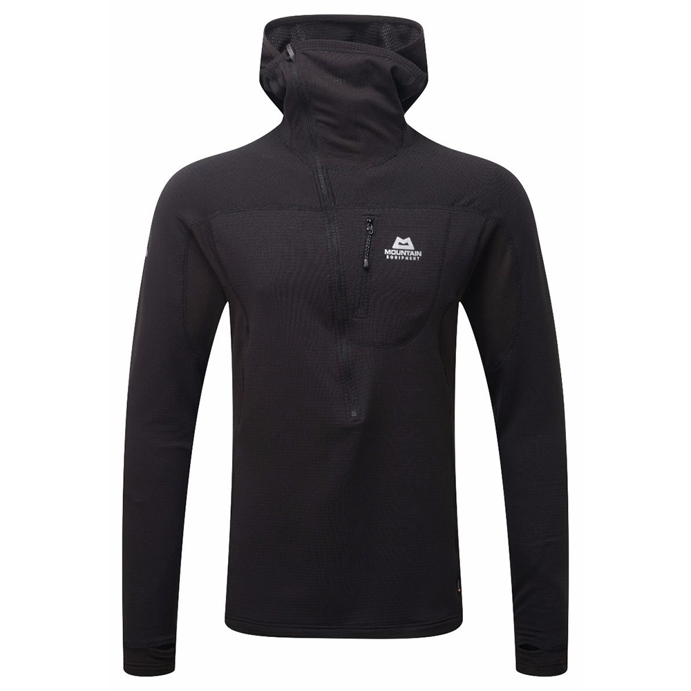 Eclipse Hooded Zip-T Black ...