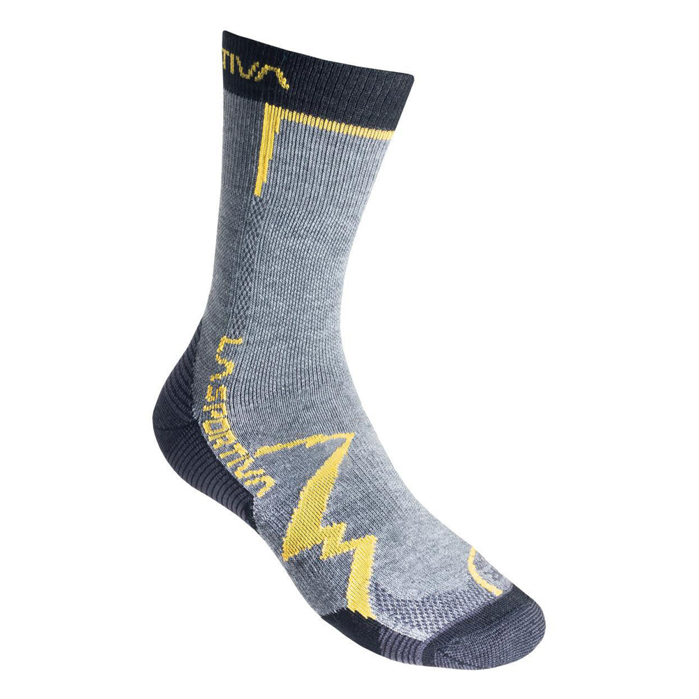 Mountain Socks Grey / Yellow