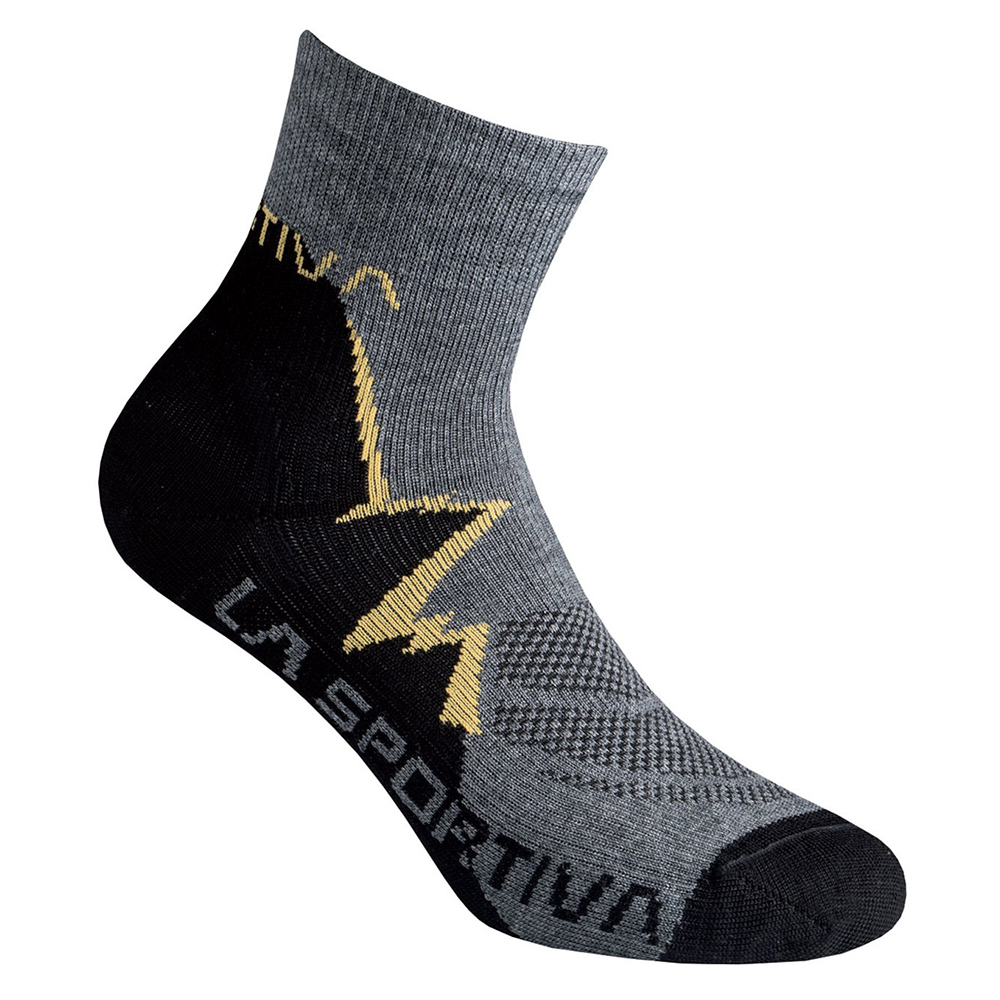 Trekker Socks Black / Yellow