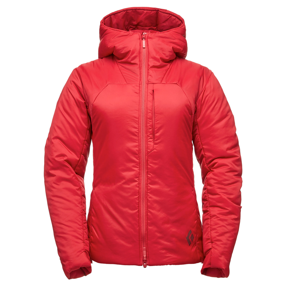 Stance Belay Parka Women's Maroon Black Diamond