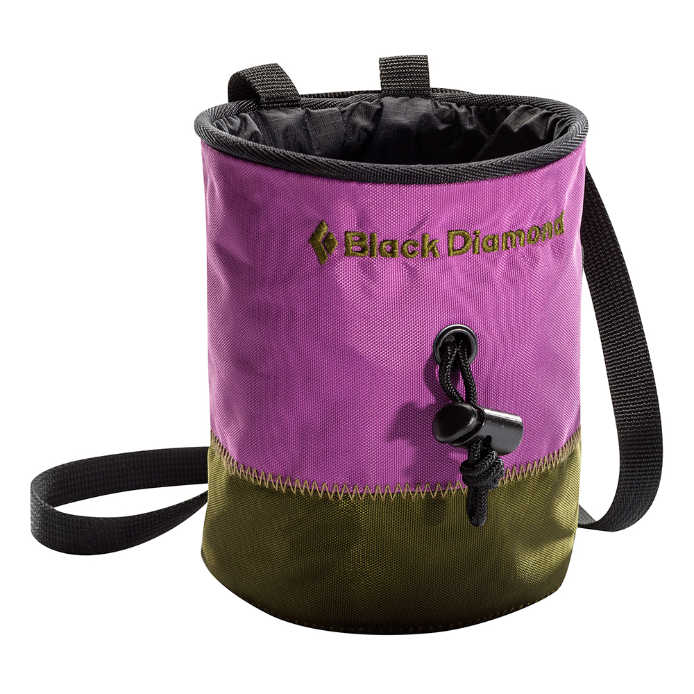 Small Mojo Repo Chalk Bag Purple Black Diamond