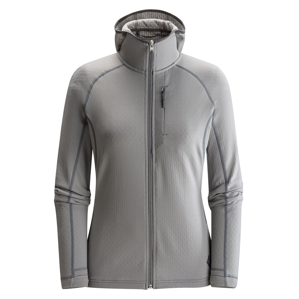 CoEfficient Hoody Woman's Nickel Black Diamond