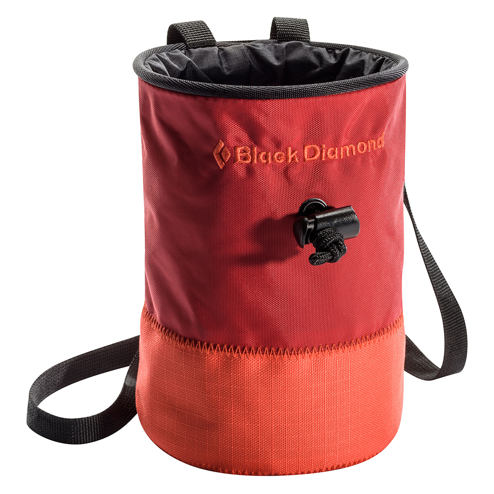Black Diamond Large Mojo Repo Chalk Bag Red