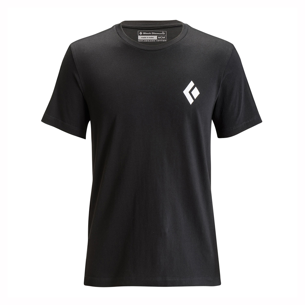Equipment for Alpinists Tee Black Black Diamond