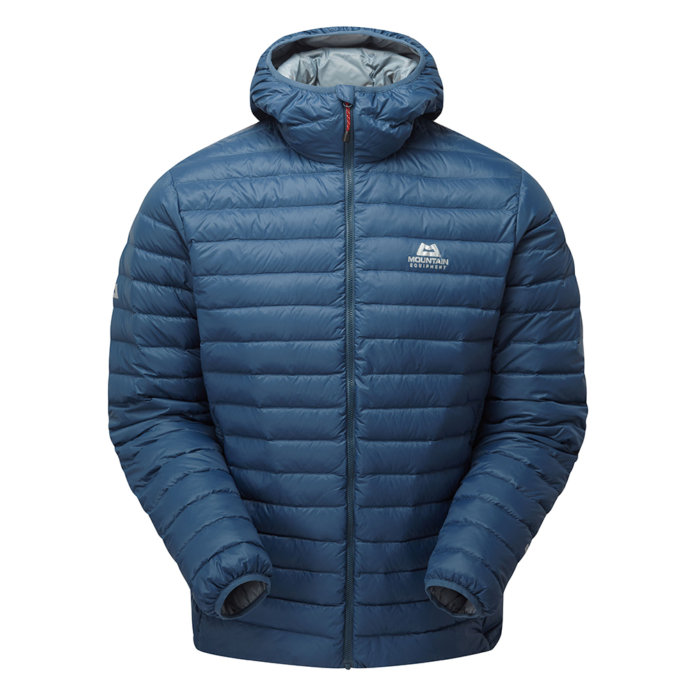 Mountain Equipment Arete Hooded Jacket Denim Blue