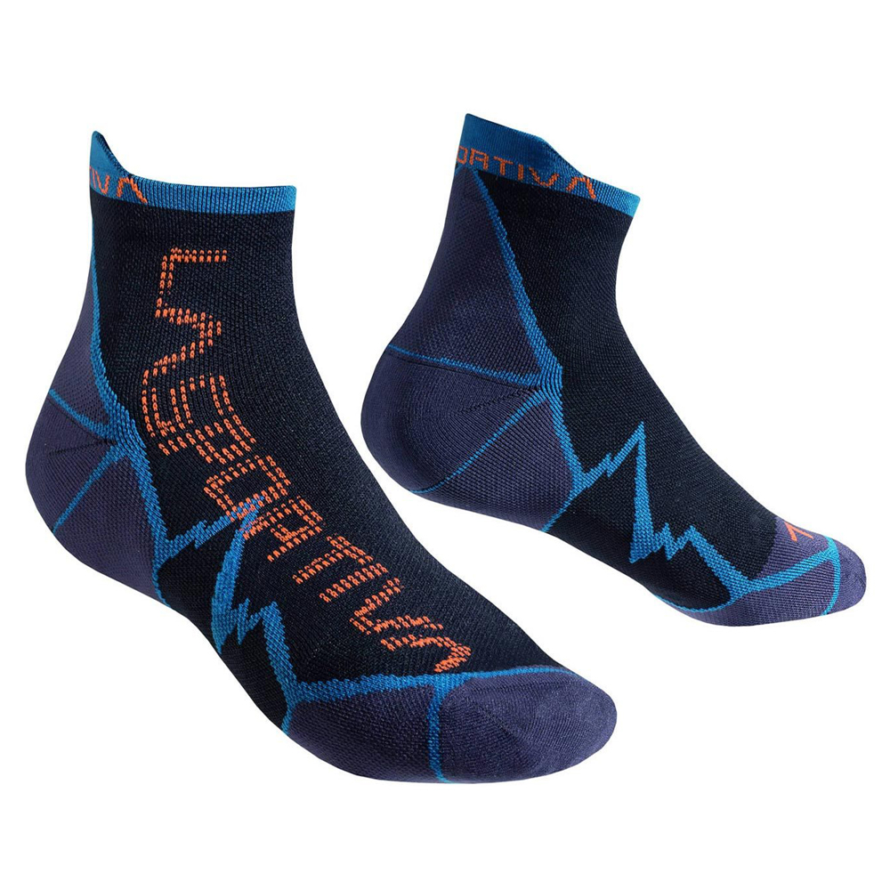 Long Distance Socks Ocean / Flame La Sportiva