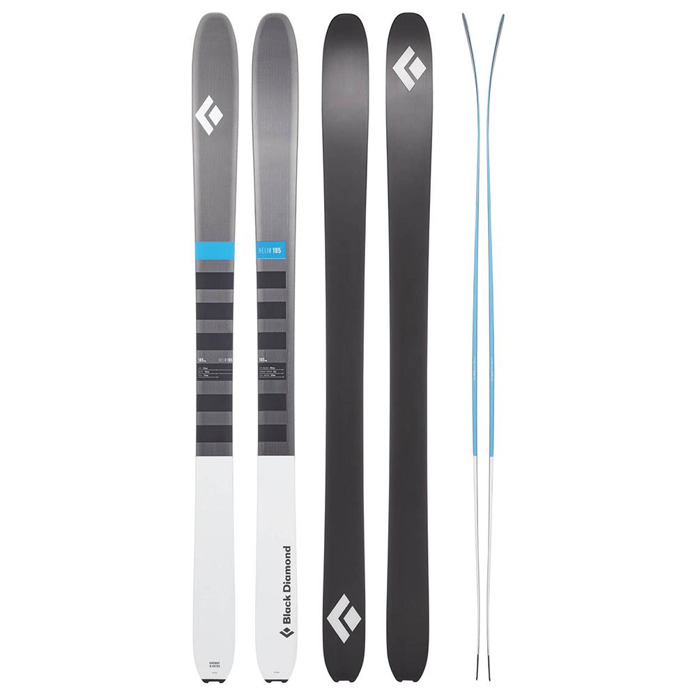Helio 105 Carbon Ski Black ...