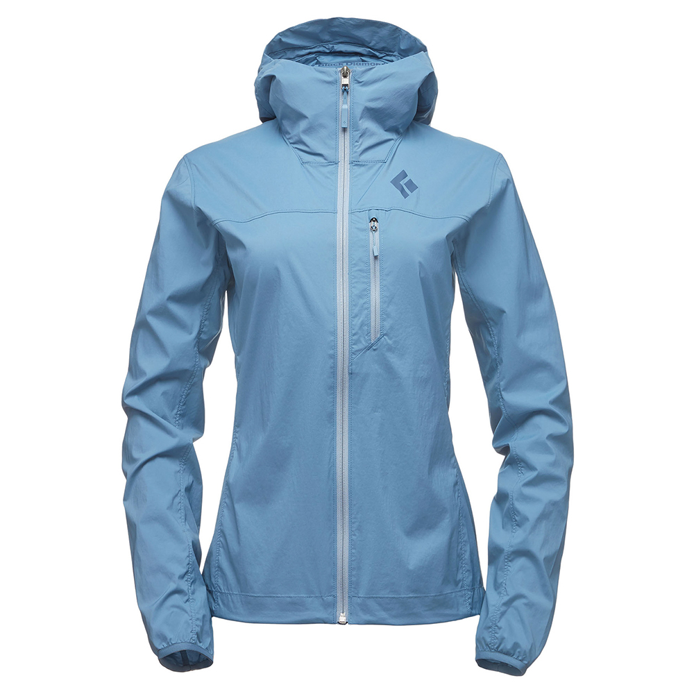 Alpine Start Hoody Women's Blue Steel Black Diamond