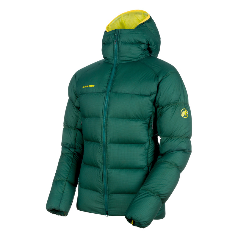 Mammut Meron Down Jacket Men Dark Teal / Canary