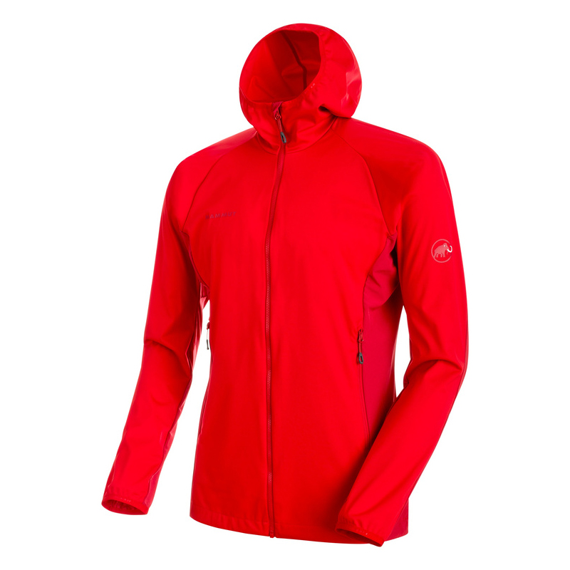 Kento Light SO Hooded Jacket Men Magma Mammut