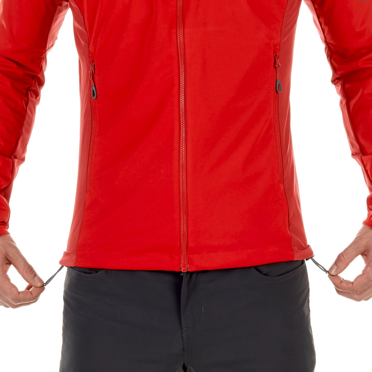 Mammut Kento Light SO Hooded Jacket Men Magma