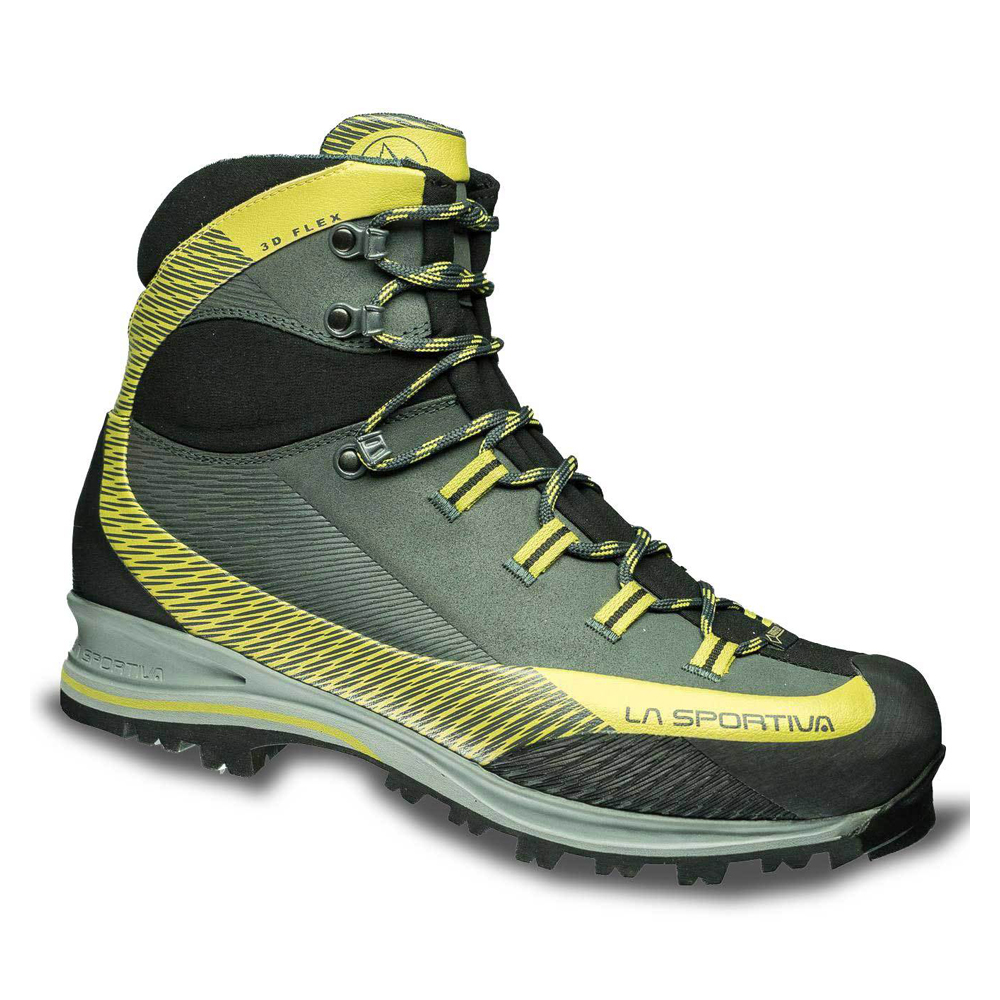 La Sportiva Trango TRK Leather Gtx Carbon / Green
