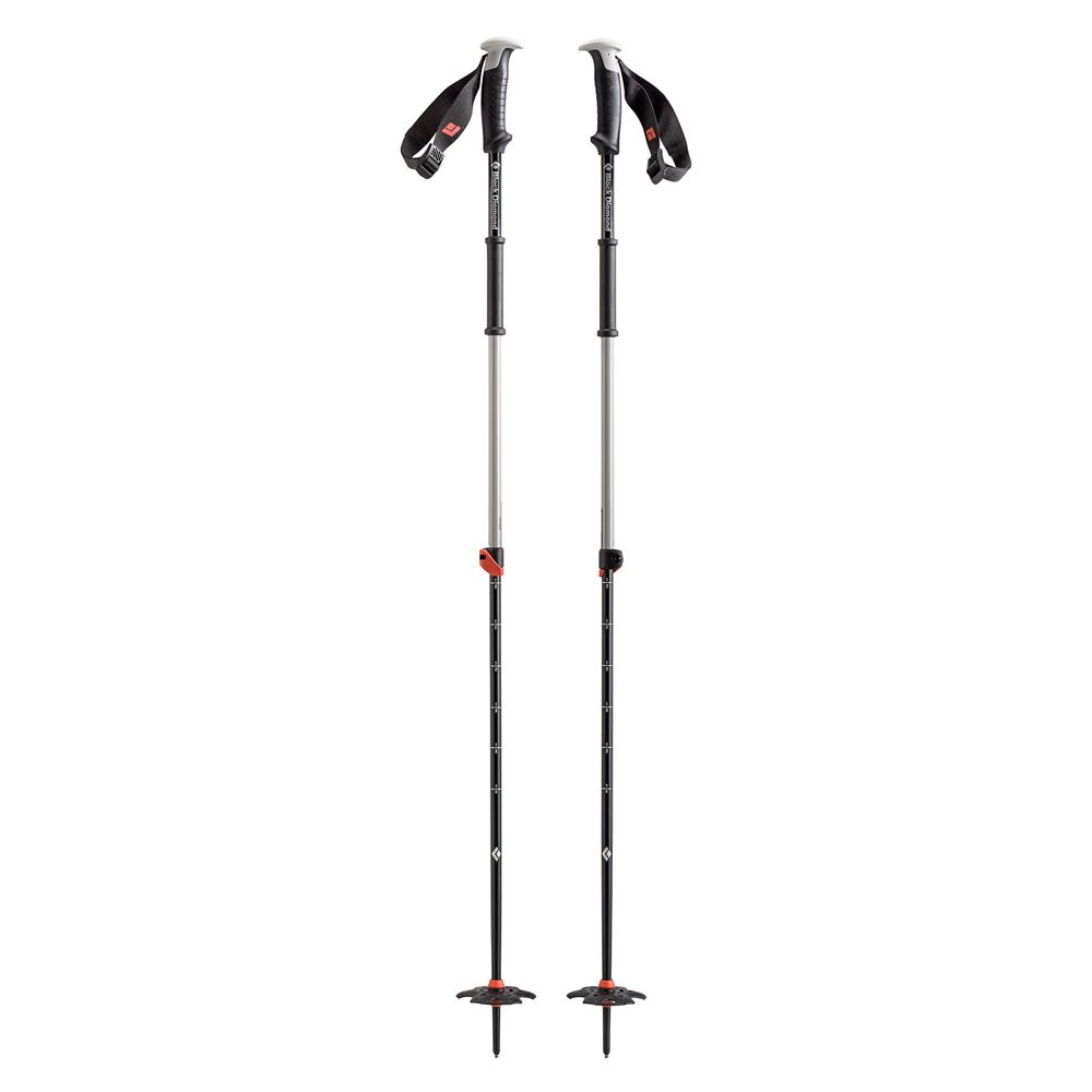 Traverse Ski Poles Black D ...