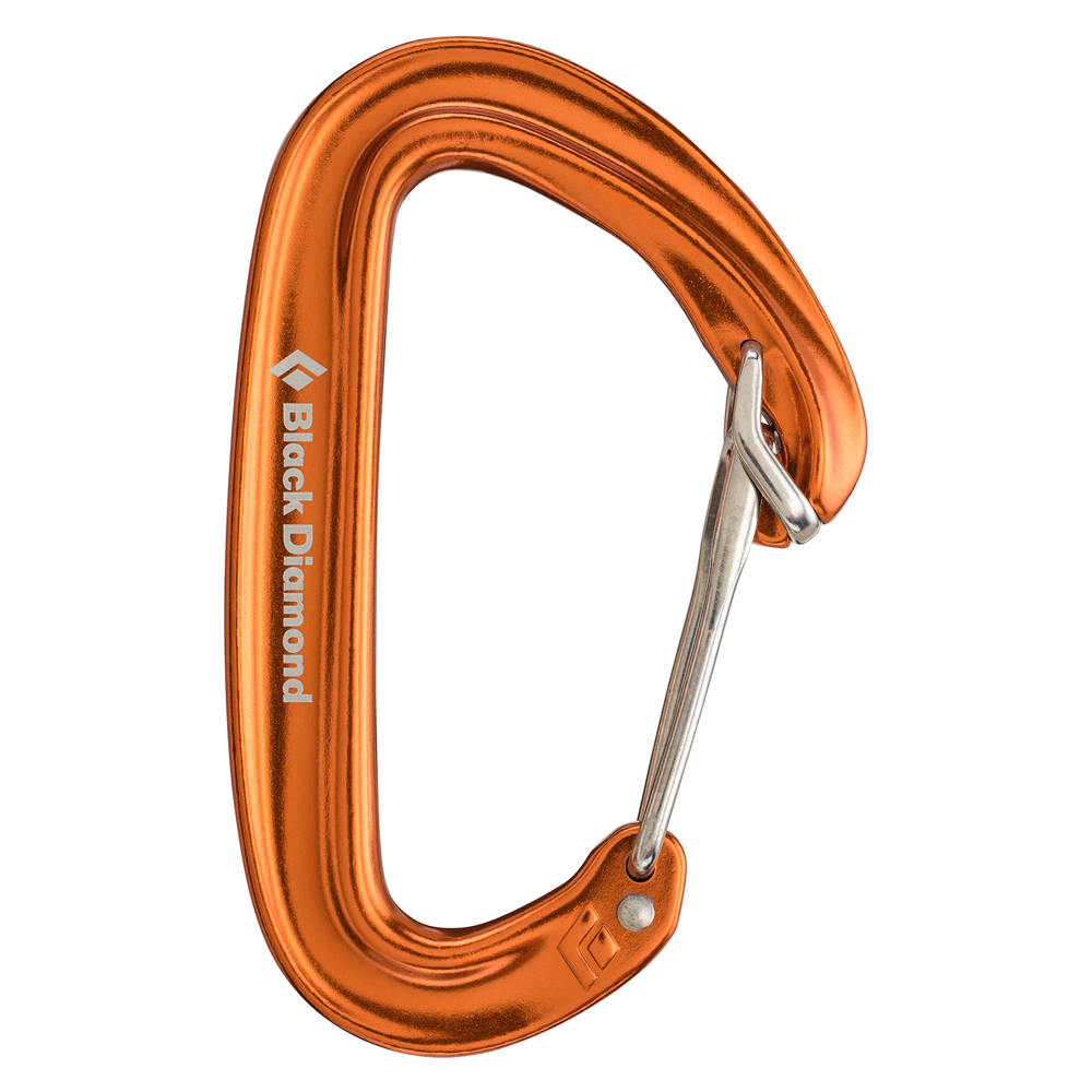 Black Diamond Oz Carabiner Orange